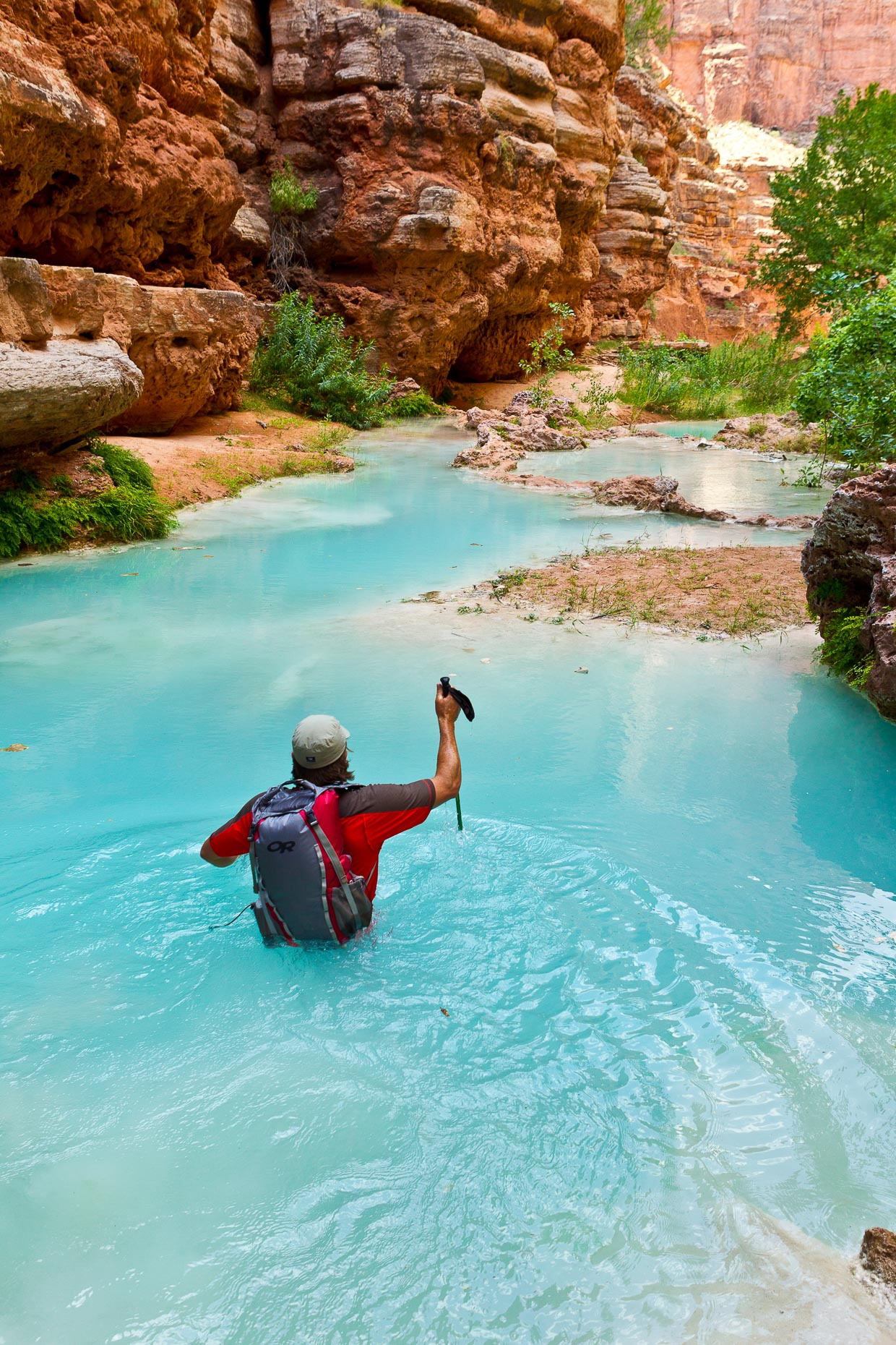 Hiking, Havasupai, 035_201106283434